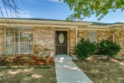 Carrollton Single Family Home Active Option Contract: 1933 Kentwood Lane