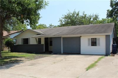 Garland Residential Lease For Lease: 514 Sunset Drive