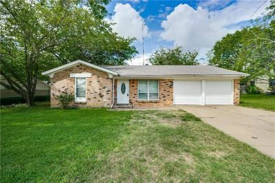 Euless Single Family Home Active Option Contract: 504 Huntington Drive