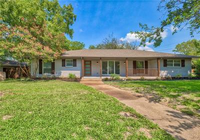 Single Family Home For Sale: 3455 Whitehall Drive