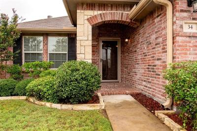 Fate Single Family Home Active Option Contract: 34 Larkspur Drive