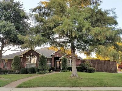 Frisco Single Family Home Active Option Contract: 11226 Clearstream Lane