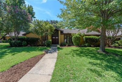 Carrollton Single Family Home Active Option Contract: 3848 Westminster Drive