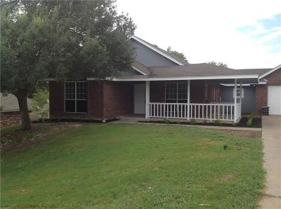 Waxahachie Single Family Home Active Option Contract: 212 Lakewood Drive