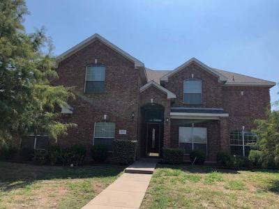 Glenn Heights Single Family Home Active Option Contract: 1210 Parkview Trail