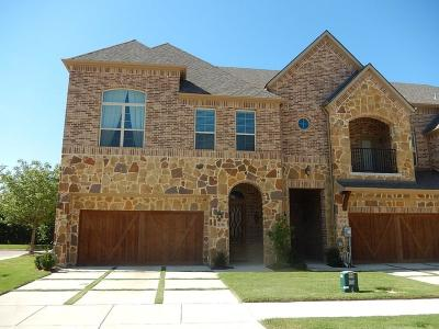 Carrollton Townhouse For Sale: 2736 Cedar Elm Drive