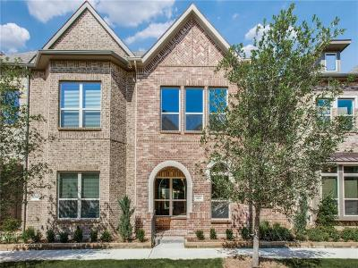 Flower Mound Townhouse For Sale: 4113 Broadway Avenue