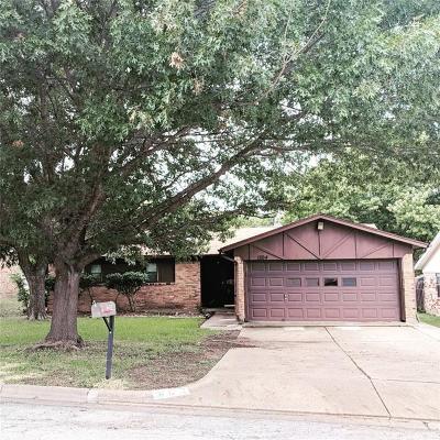 White Settlement Single Family Home For Sale: 1204 Rumfield Road