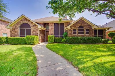 Plano TX Single Family Home Active Option Contract: $299,900
