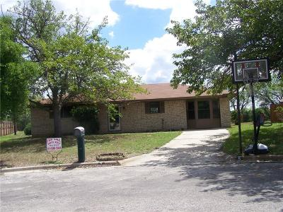 Brownwood TX Single Family Home For Sale: $154,500