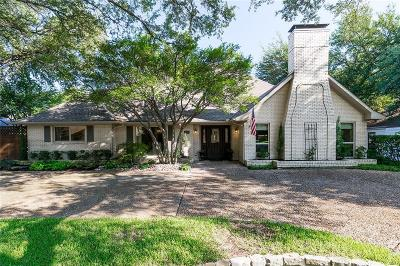 Dallas Single Family Home For Sale: 4209 High Star Lane
