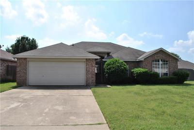 Mansfield Single Family Home Active Option Contract: 1609 Fern Drive