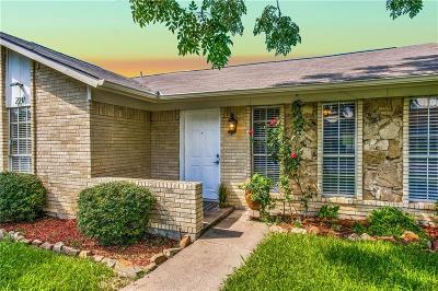 Carrollton Single Family Home Active Option Contract: 2211 Stonebrook Drive