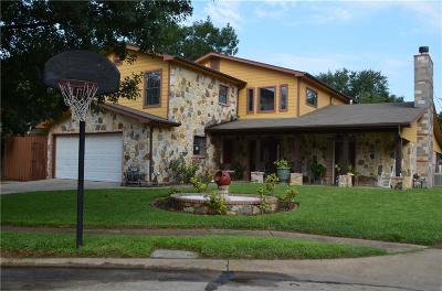 Irving Single Family Home Active Option Contract: 2127 Lake By Drive