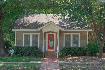 Kaufman Single Family Home For Sale: 701 S Houston Street