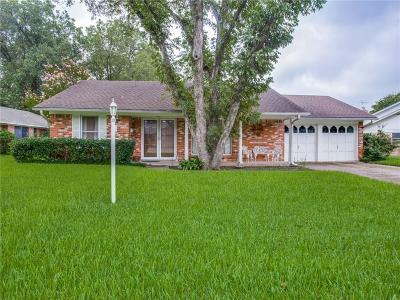 Benbrook Single Family Home Active Option Contract: 9001 Sirocka Drive