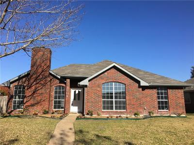 Mesquite Single Family Home For Sale: 1604 Windmire Drive