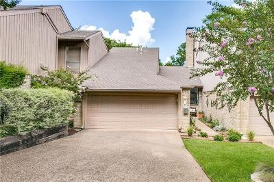 Dallas Townhouse For Sale: 1222 Middlebrook Place