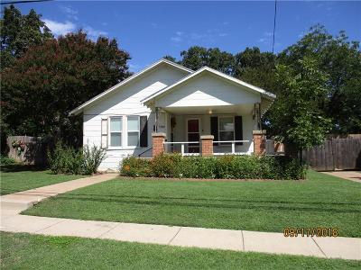 Fort Worth Single Family Home For Sale: 5909 Craig Street
