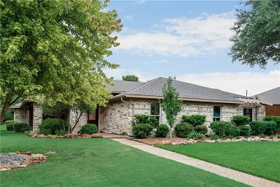 Plano Single Family Home Active Option Contract: 3229 Cross Bend Road
