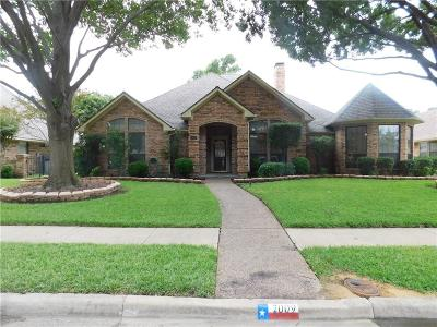 Rowlett Single Family Home Active Option Contract: 2009 Pecan Ridge Drive