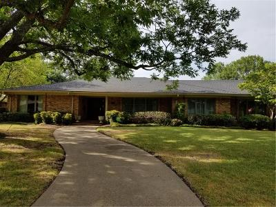 Dallas Single Family Home Active Option Contract: 4539 Bobbitt Drive
