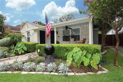 Dallas Single Family Home For Sale: 1043 N Edgefield Avenue
