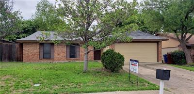 Single Family Home Active Option Contract: 2309 Benbrook Drive