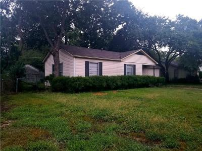 Dallas Single Family Home For Sale: 1237 Casa Vale Drive