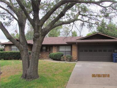 Denison Single Family Home For Sale: 523 Dean Drive