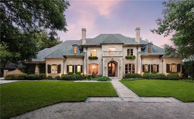 Dallas Single Family Home For Sale: 6447 Meadow Road
