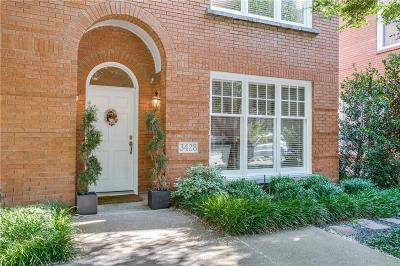 Highland Park, University Park Single Family Home For Sale: 3428 Binkley Avenue