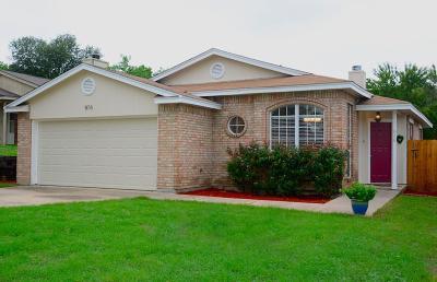White Settlement Single Family Home For Sale: 816 Max Street