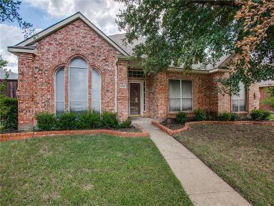 Garland Single Family Home Active Option Contract: 2825 Kingswood Drive