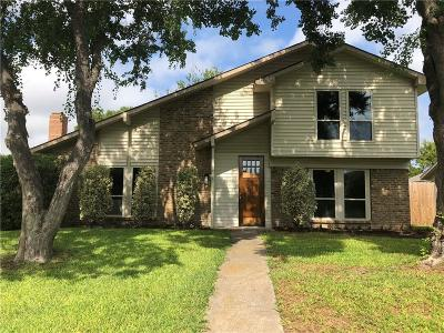 Garland Single Family Home Active Contingent: 5213 Pensacola Drive