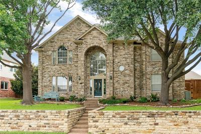 Plano Single Family Home Active Contingent: 2721 Cascade Drive