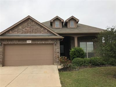 Fort Worth Residential Lease For Lease: 2037 Frosted Willow Lane