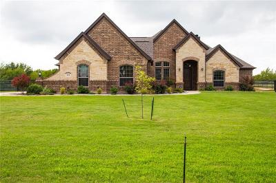 Springtown Single Family Home Active Contingent: 124 Mill Crossing Lane