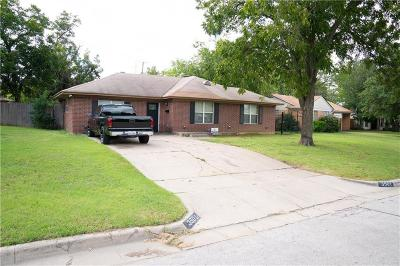 Fort Worth Single Family Home For Sale: 3501 South Drive
