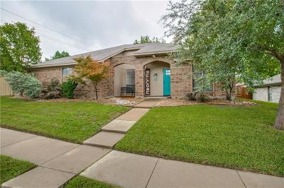 Coppell Single Family Home Active Option Contract: 303 Harwell Street