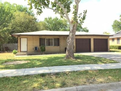 Benbrook Single Family Home Active Option Contract: 1018 Usher Street