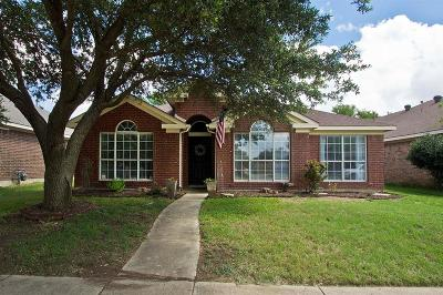 Allen Single Family Home For Sale: 1017 Draycot Court