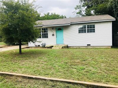 Stephenville Single Family Home For Sale: 1365 W Groesbeck Street