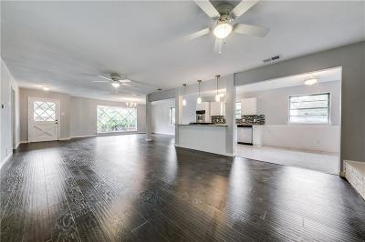 Dallas Single Family Home Active Option Contract: 8307 Foxwood Lane