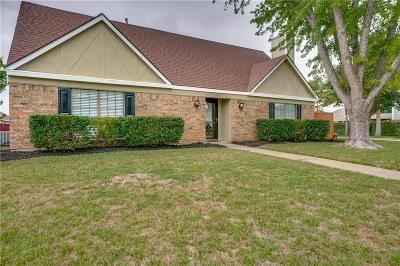 Garland Single Family Home Active Option Contract: 2735 Naples Drive