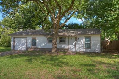 Arlington Single Family Home Active Option Contract: 1405 Helen Circle