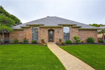 Carrollton Single Family Home Active Option Contract: 1512 Bellflower Drive