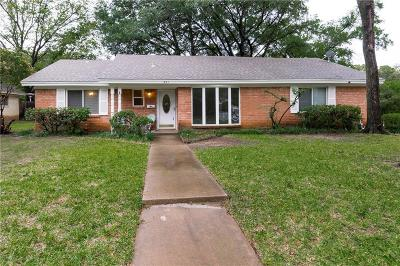 Bedford, Euless, Hurst Single Family Home For Sale: 801 Canyon Ridge Drive
