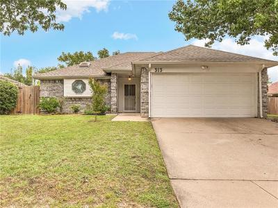 Fort Worth Single Family Home For Sale: 313 Birchwood Lane