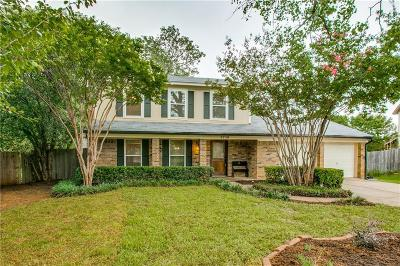 Flower Mound TX Single Family Home Active Option Contract: $249,000